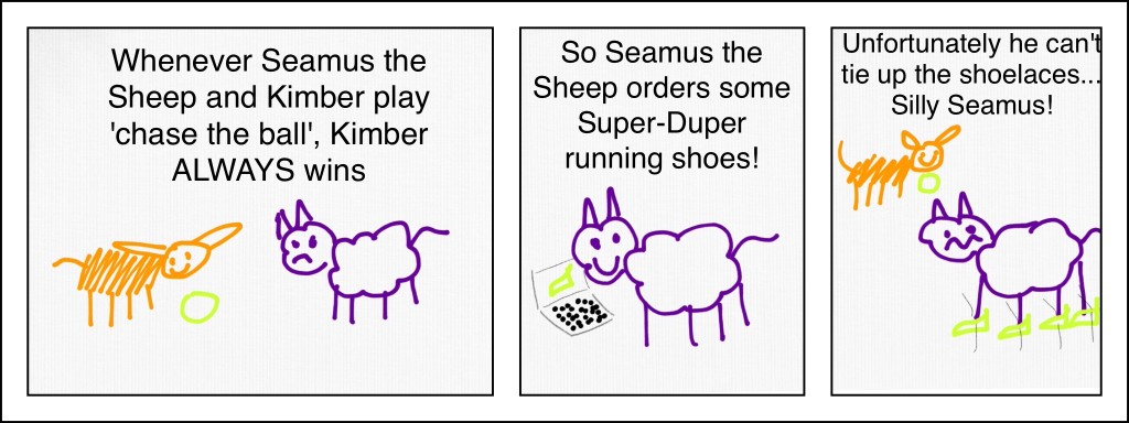 Seamus Shoelaces