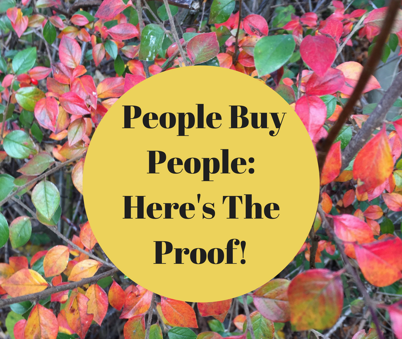 Proof That People Buy People