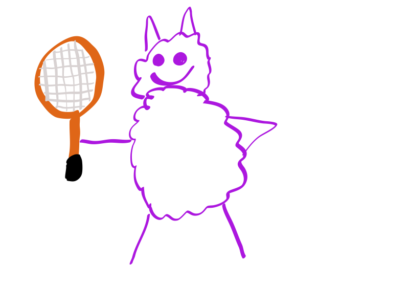 Seamus The Tennis-Pro Sheep